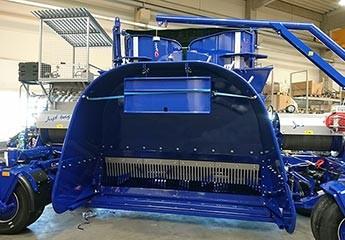 AG BAG stroj za spremanje sirovina