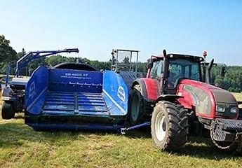 Spremanje raži u AG BAG